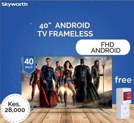 40 Skyworth Android Frameless Television image 2