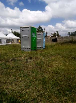 Mobile toilets available for hire image 5