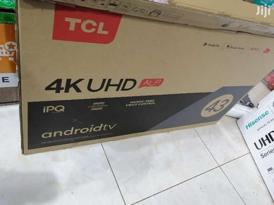 TCL 43 inch smart Android TV IPQ image 1