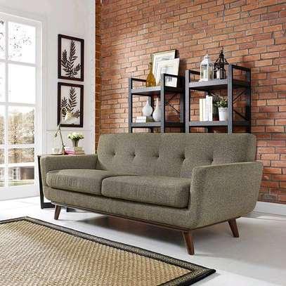 Beautiful Quality 3 Seater Mid-century Sofa image 1