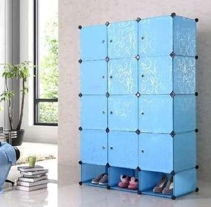plastic portable wardrobes 3 columns image 10