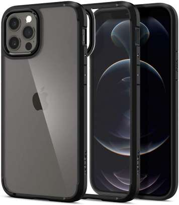 GREEN STYLISHLY TOUGH CASE WITH RING IPHONE 12,12 PRO, 12 PRO MAX image 1