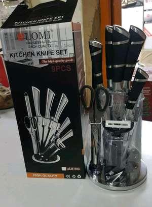 Kitchen knife set image 1