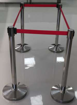 Retractable belt Stanchions