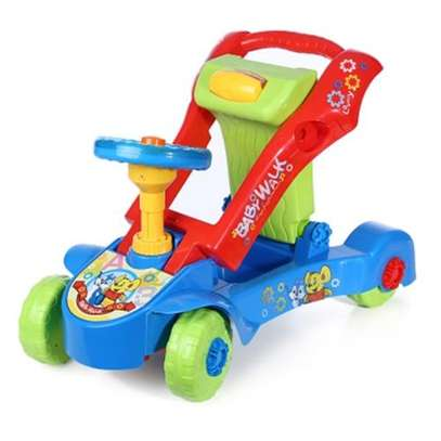 Toddler Activity Walker & Ride -on Car