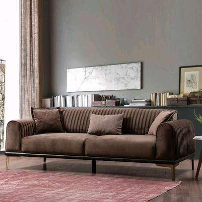 Modern three seater sofas/latest sofa designs/sofas manufacturers in Nairobi Kenya/sofa stores in Nairobi Kenya image 1
