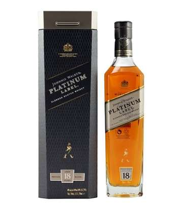 Johnnie Walker Platinum Label Whisky image 1