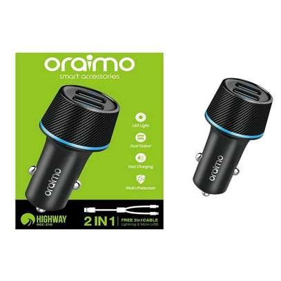 oraimo car charger.