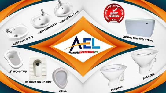 MIXED SANITARY WARE ITEMS
