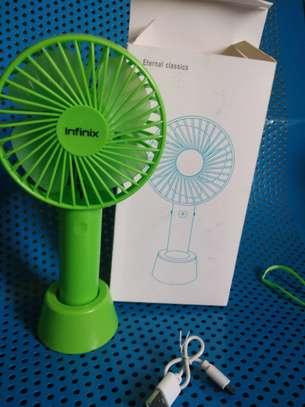 Rechargeable Infinix handheld fan image 2