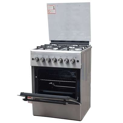 RAMTONS 4GAS+ELECTRIC OVEN 60X60 STAINLESS STEEL COOKER- RF/492 image 3