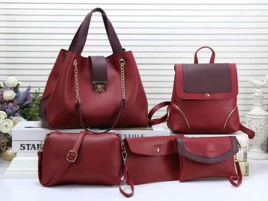 5 in 1 Durable nice ladies handbags
