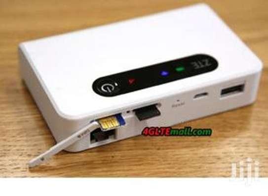 ZTE 4G Pocket Wifi With A LAN Port image 1