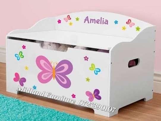 Baby toy box / kids toy box image 1
