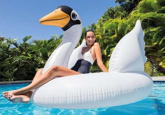 Mega Swan Island Swimming Floater image 1