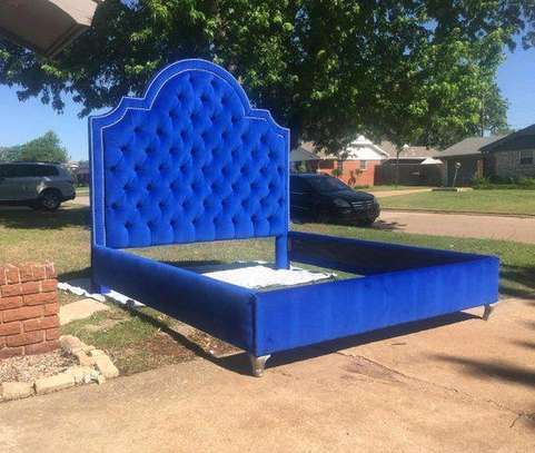 Blue chesterfield beds for sale in Nairobi Kenya/Modern beds for sale in Nairobi Kenya image 1