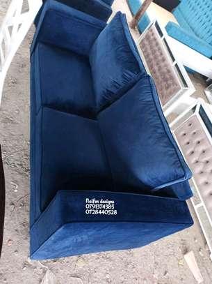 Modern three seater sofa for sale in Nairobi Kenya/blue sofas image 1