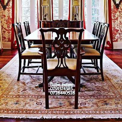 Modern dining sets/diningroom designs/six chairs Dining set image 1