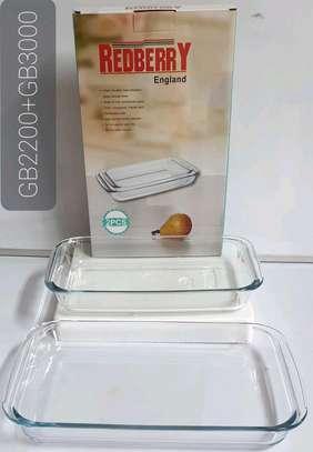 Heat resistant glassware