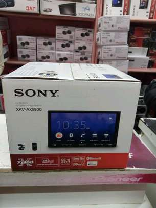 Sony Xav-Ax5500 car radio image 1