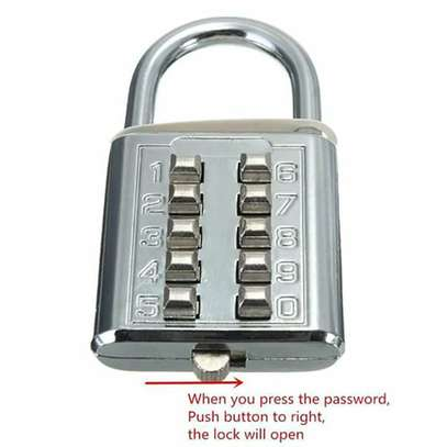 Keyless Password Padlock
