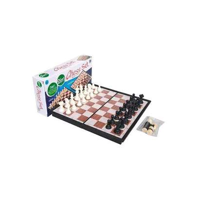 2 in 1 Chess & checker image 3