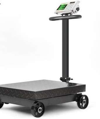 500kg Heavy Duty Electronic Price Platform Scale Cast Iron image 1