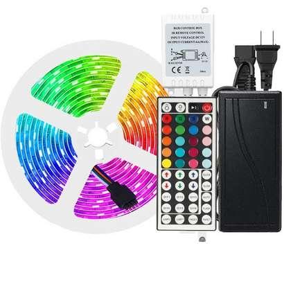 Multicolored RGB Strip Lights image 1