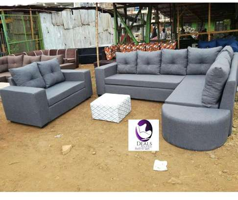 Six Seater Corner Seat + Sofabed/ Two Seater image 8
