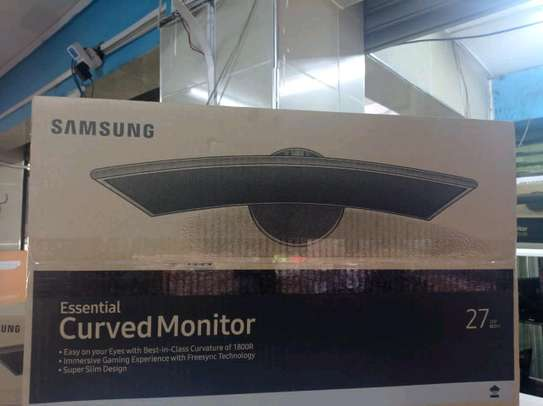 Samsung essential curved monitor image 1
