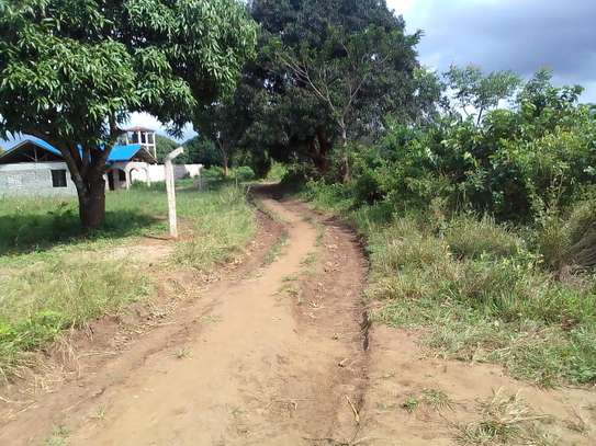 A 1/4 plot for sale in Diani Kona ya musa,