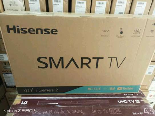 Hisense 40inch smart digital  led tv image 1