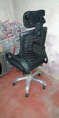 Graphic customization executive chair image 1