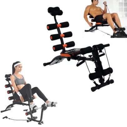 Multi Purpose Six Pack Care ABS Fitness Machine- Cycle image 1