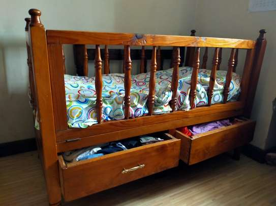 Kids baby cot image 2