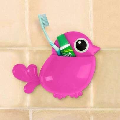 Multipurpose Bathroom Toothpaste Toothbrush Holders image 2