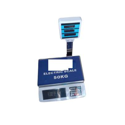 50KG Digital Scale Electronic Weighing Machine image 1
