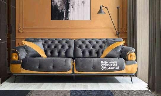 Three seater sofas/unique sofa designs image 1
