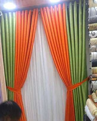 Curtains and Matching sheers image 3