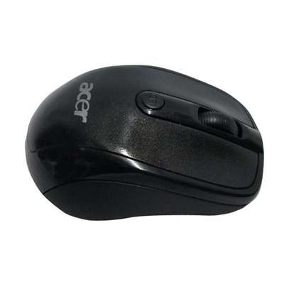 Acer Wireless Mouse - With 2.4 Ghz - USB Receiver - Black image 1