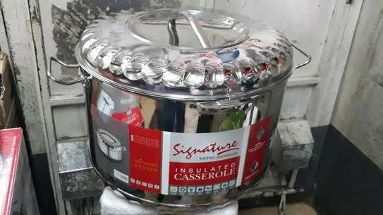 50litre Hot pot/50litre signature stainless steel hot pot/food warmer image 2
