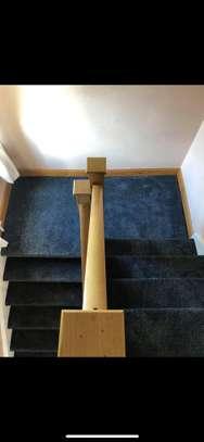 Charcoal grey wall to wall carpets image 9