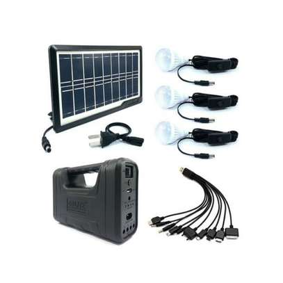 GDLITE Portable Solar Rechargeable Lighting System (GD-8017 Plus 3)