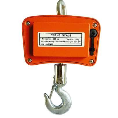 500 KG / 1100 LBS Digital Crane Scale Heavy Duty Industrial Hanging Scale kg/lb image 3