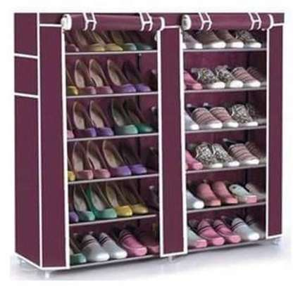 Two Column Strong Shoe Rack image 2