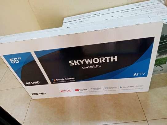 55 Skyworth Android 4K UHD TV - End Month Super Sale image 2