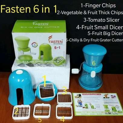 Fasten 6 in 1 Vegetable Slicer image 1