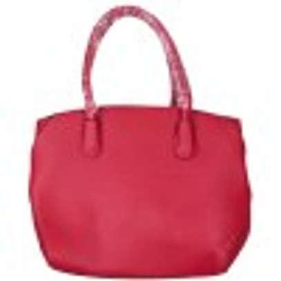 Stylish 3 piece Red Hand Bag image 3