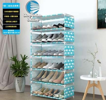 Single storage shoe rack image 5