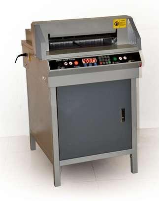 Intelligent Electric 480 Paper Cutter, A4 Size Full-automatic Paper Cutting Machine image 1